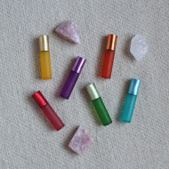 Set 6 sticlute colorate roll-on 10 ml