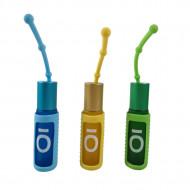 Protectii colorate din silicon pentru sticlute 10 ml - VERDE/GALBEN/BLEU