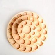 Suport rotativ doTERRA din lemn de bambus - 39 sticlute