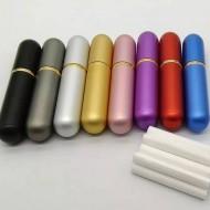 Inhalator nazal pentru aromaterapie - invelis metalic