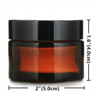 Borcan de sticla bruna 30 g
