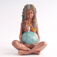 Statueta rasina Mama Pamant marime L