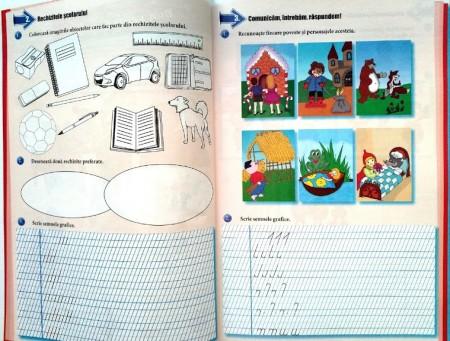 Comunicare în limba română, Clasa I - Caiet de lucru