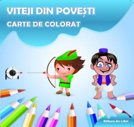 Carte de colorat - Viteji din povești