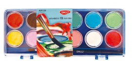 Acuarele 12 culori Daco