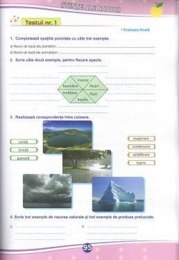 Teste de evaluare (descriptori de performanta) - Clasa a IV-a. Limba romana - Matematica - Stiinte ale naturii - Educatie civica - Istorie - Geografie