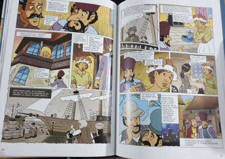 Abu Hasan – Povestiri și schițe. Benzi desenate