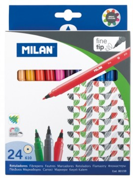 Carioca 24 culori Milan