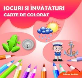Carte de colorat - Jocuri și învățături