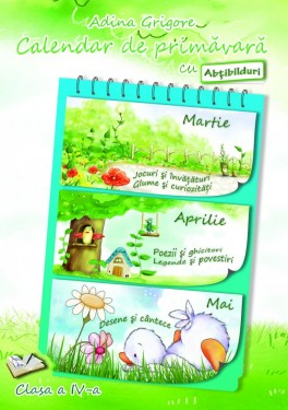 Calendar de primăvară cu Abțibilduri, Clasa a IV-a