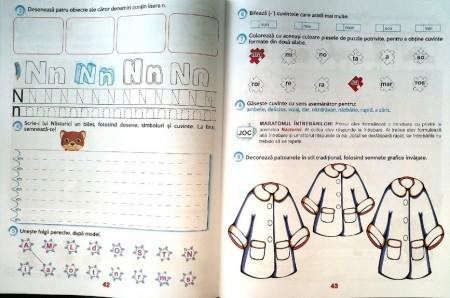 Comunicare în limba română pentru clasa pregătitoare-Fișe de lucru