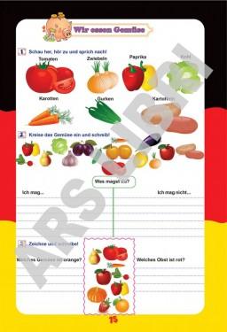 Limba germană, Clasa I - Caiet de lucru