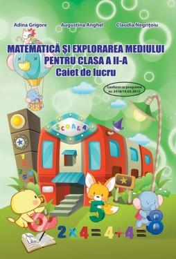 Matematica și explorarea mediului, Clasa a II-a - Caiet de lucru