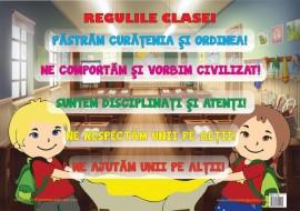 Plansa Regulile Clasei