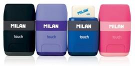 Ascuțitoare cu radieră Touch Milan