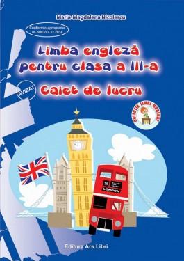 Limba engleză, Clasa a III-a - Caiet de lucru