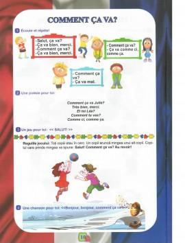 Limba franceză, Clasa pregătitoare
