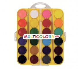 Acuarele 24 culori Multicolora Daco