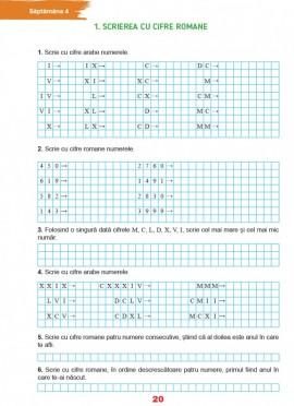 Matematică pentru clasa a IV-a - Caiet de lucru