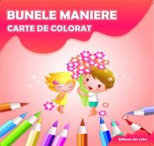 Carte de colorat - Bunele maniere