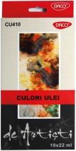 Culori ulei 10 culori Artist Daco