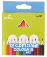 Creion color 12 culori Ecada