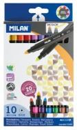 Carioca 10 culori bicoloră Milan