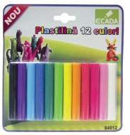 Plastilină 12 culori Ecada