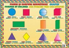 Plansa Figuri și Corpuri Geometrice