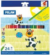 Creion color 24 culori Milan