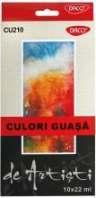 Culori guaşă 10 culori Artist Daco