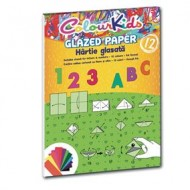 Hârtie Glasată A4 12C/Set Pigna
