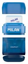 Ascuțitoare cu radieră Compact Milan