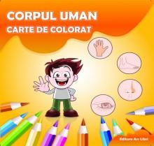 Carte de colorat - Corpul uman