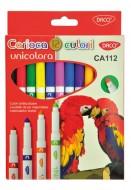 Carioca 12 culori Unicolora Daco