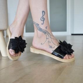 Papuci MDM1144 Black
