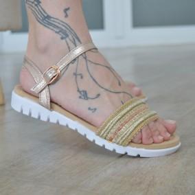 Sandale MBR1147 Gold