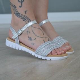 Sandale MBR1147 Silver