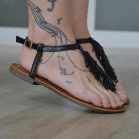 Sandale MBR1146 Black