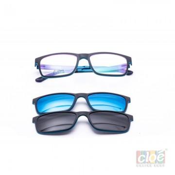Poze Rame ochelari de vedere si soare CLIP ON Ultem Beta Memory 80 col 4 Polarized