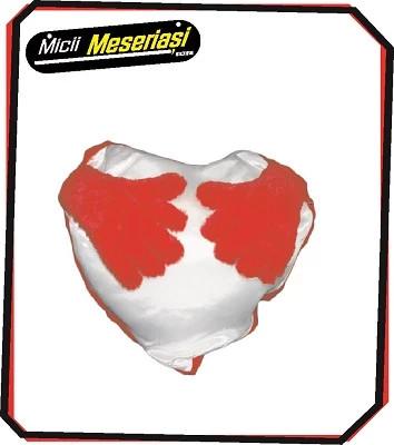 Perna in forma de inima cu mânute