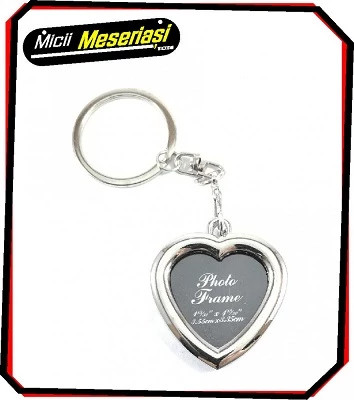 Breloc metalic inima