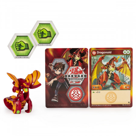 BAKUGAN S2 BILA BASIC DRAGONOID CU CARD BAKU-GEAR