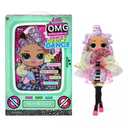 Papusa LOL Surprise! O.M.G Fashion Doll Dance Miss Royale