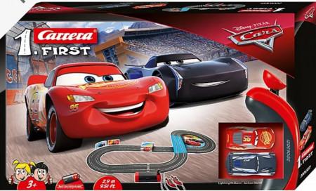 Set Masinute Lightning McQueen si Jackson Storm - Carrera First