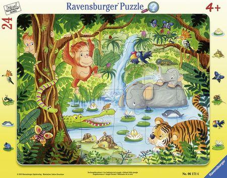Puzzle Jungla Tip Rama, 24 Piese