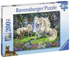 Puzzle Unicornii mistici, 200 piese