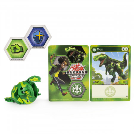 BAKUGAN S2 BILA BASIC TROX CU CARD BAKU-GEAR