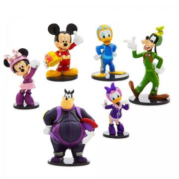 Figurine Mickey si pilotii de curse