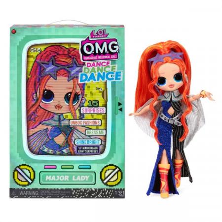 Papusa LOL Surprise! O.M.G Fashion Doll Dance Major Lady